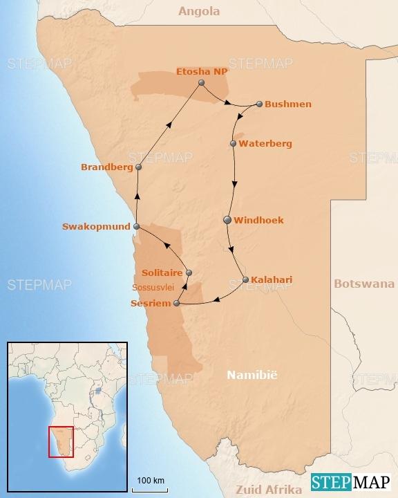 Rondreis Namibië En Botswana Rondreizen Riksja Namibië