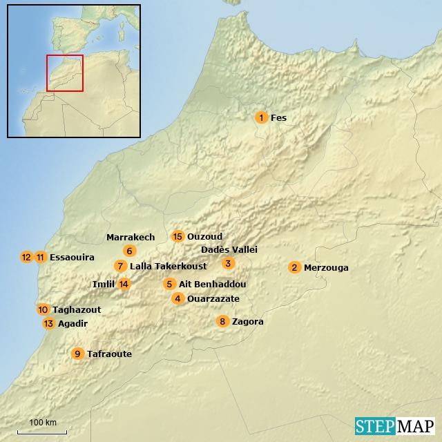 Riksja Family Marokko (Building Blocks)