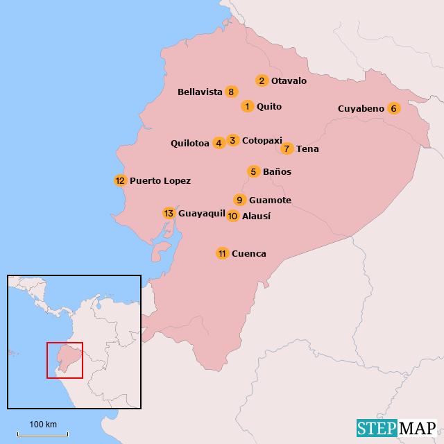 Ecuador bouwstenen overzichtspagina
