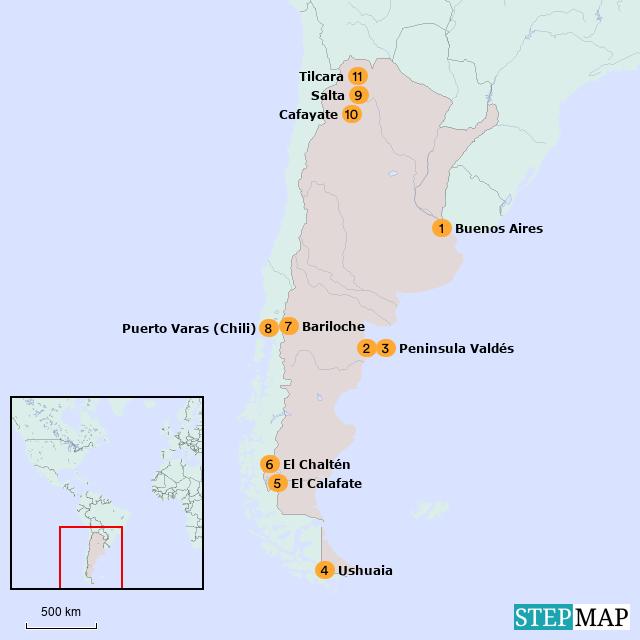 Argentinië bouwstenen overzichtspagina